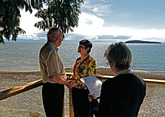 Weddings at our Romantic Oceanfront B&B