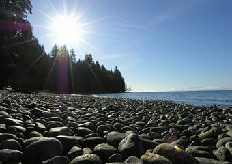 Tourist desinations on the Sunshine Coast, BC