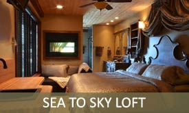 Sea to Sky Loft B&B - Beach Hideaway Bed & Breakfast - Sechelt BC